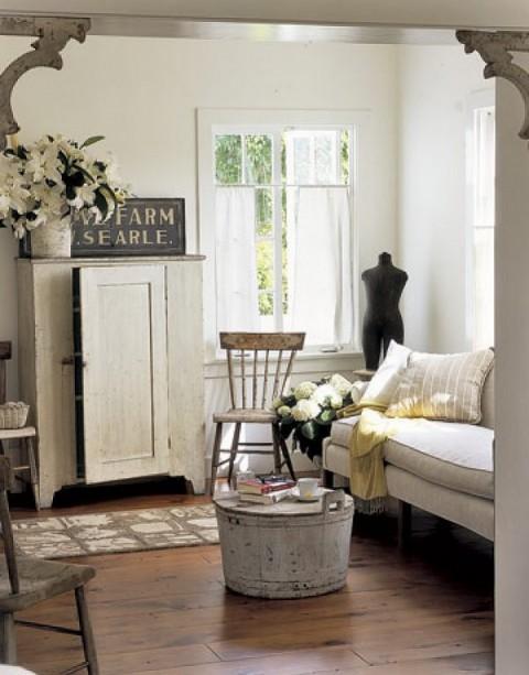 Ideas para decorar con madera vintage for Decorative corbels interior design