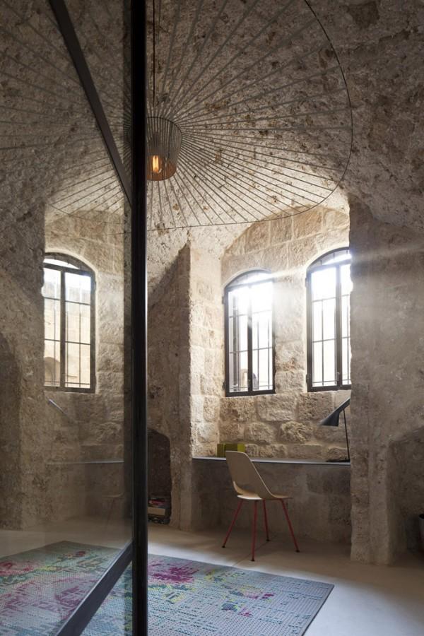 Restauración de una casa en Israel 1