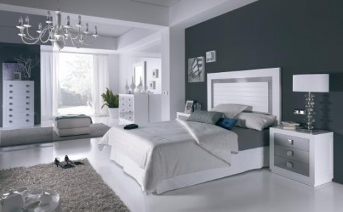 Color blanco y gris 4