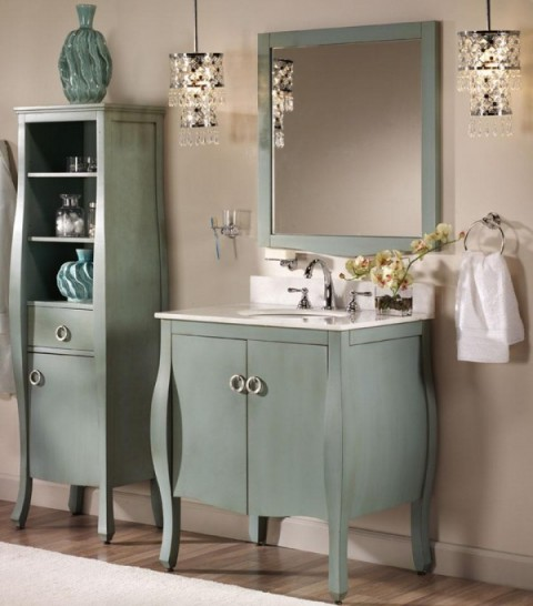 Armarios para baños modernos 3