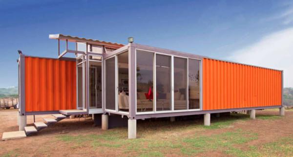 Casas con contenedores 4