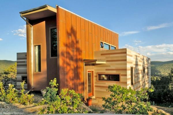 Casas de dise o con contenedores de transporte - Casa hecha con contenedores ...