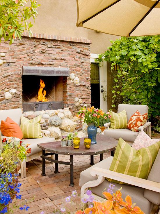Chimeneas al aire libre for Imagenes de techados