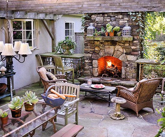 Chimeneas al aire libre - Chimeneas para jardin ...