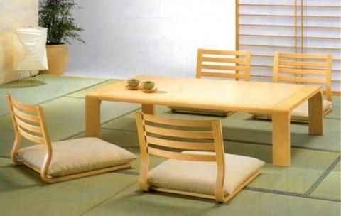 los detalles para un comedor de estilo japon s