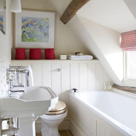 Decora con estilo los cuartos de ba o peque os - Iluminacion cuartos de bano ...
