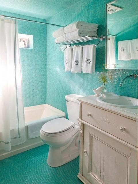 Decora con estilo los cuartos de ba o peque os - Lo ultimo en cuartos de bano ...