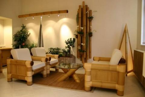 Detalles de bamb para decorar el sal n for Bambu seco para decoracion