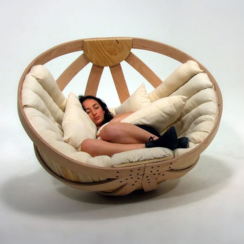 12 sof s de dise o que invitan a descansar - Rocking chair confortable ...