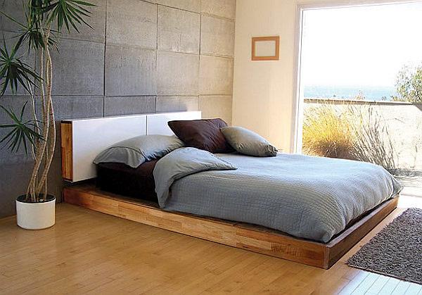 Decora las habitaciones con acabado de hormig n for Ver dormitorios decorados