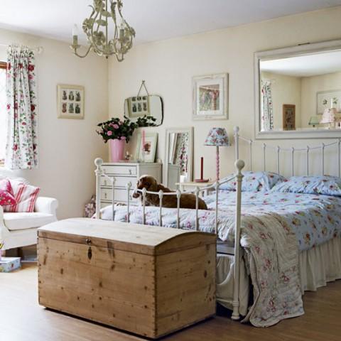 Detalles de estilo vintage para tu habitaci n for Casas estilo vintage