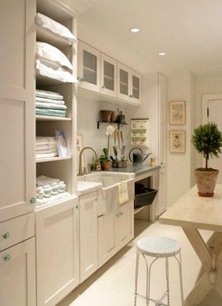 La lavandería en la cocina 2