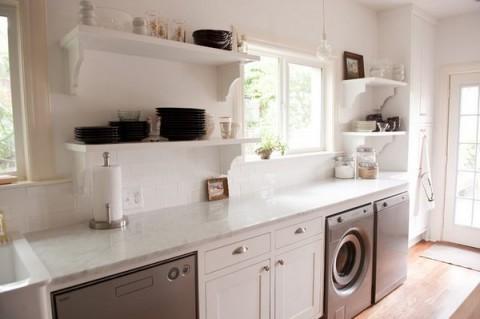 La lavandería en la cocina 3