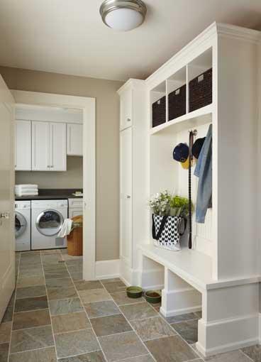 La lavandería en la cocina 6