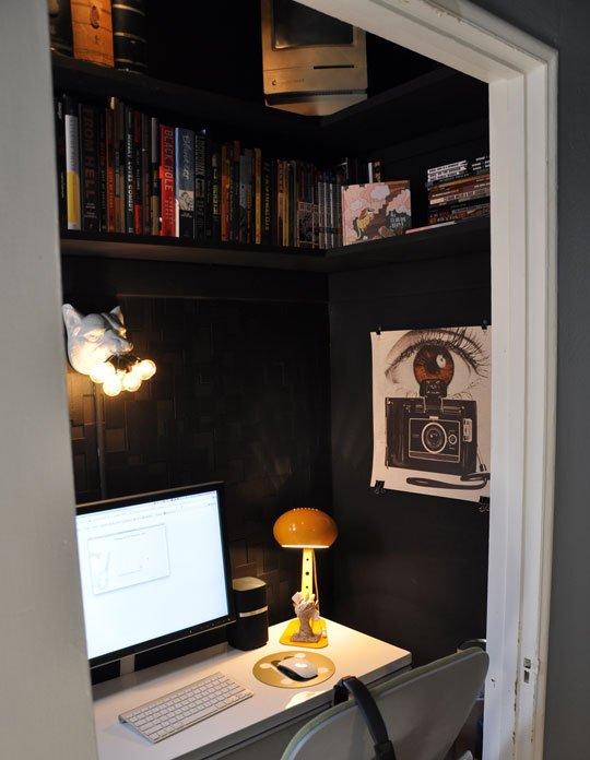 Espacios de almacenaje en el escritorio 4