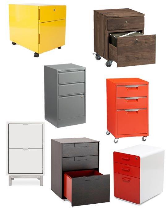 Espacios de almacenaje en el escritorio 6