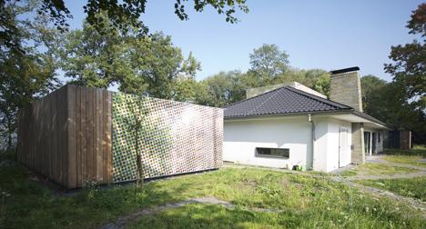 Casa con diseño de camuflaje 2