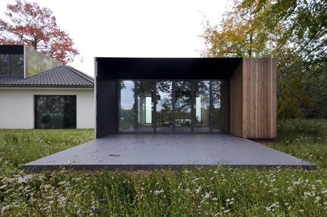 Casa con diseño de camuflaje 3