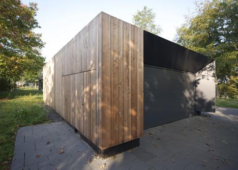 Casa con diseño de camuflaje 5