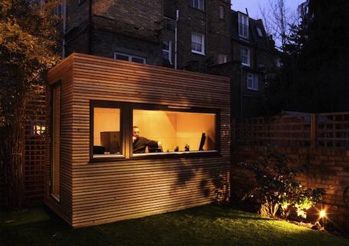 Oficinas de diseño en el jardín 1