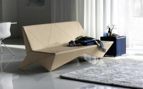 Mobiliario de diseño estilo origami 1