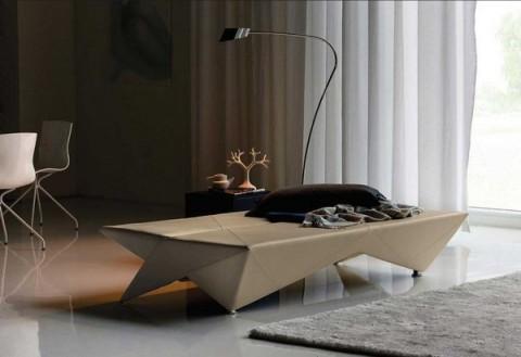 Mobiliario de diseño estilo origami 2