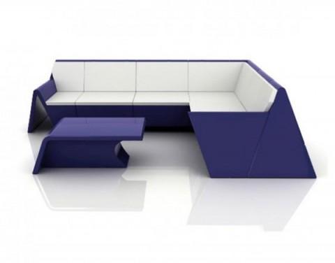 Mobiliario de diseño estilo origami 4