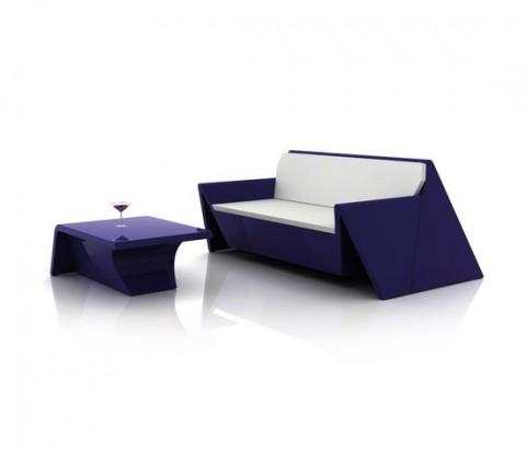 Mobiliario de diseño estilo origami 6