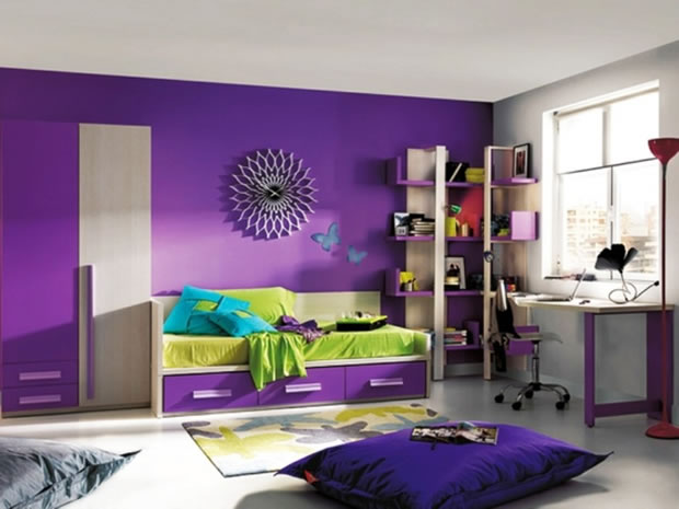 purple colour combination for living room 9 colores especiales para la habitaci 243 n de los peques 24818