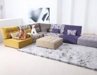 imagen Sofás modulares modernos y coloridos