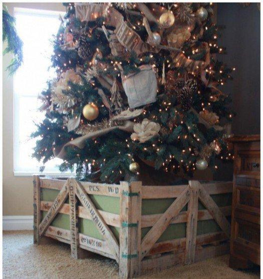 ideas para la base del rbol de navidad