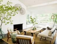 imagen Ideas para crear un salón más natural
