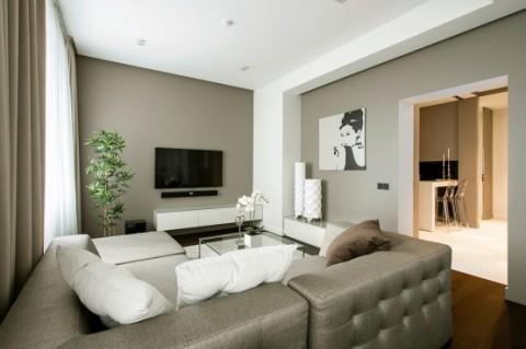 Apartamento de lujo con inspiraci n minimalista en mosc for Moderne binnenhuisarchitectuur