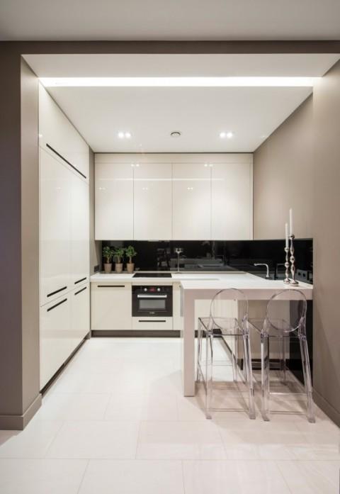 Apartamento de lujo con inspiraci n minimalista en mosc for Apartamentos minimalistas