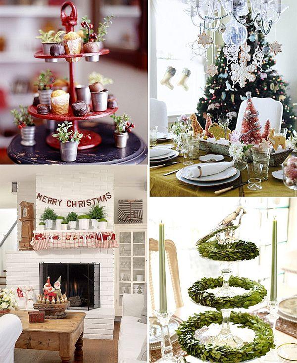 Art culos de cocina utilizados en la decoraci n navide a for Decoracion casa navidena