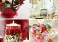 imagen Artículos de cocina utilizados en la decoración navideña