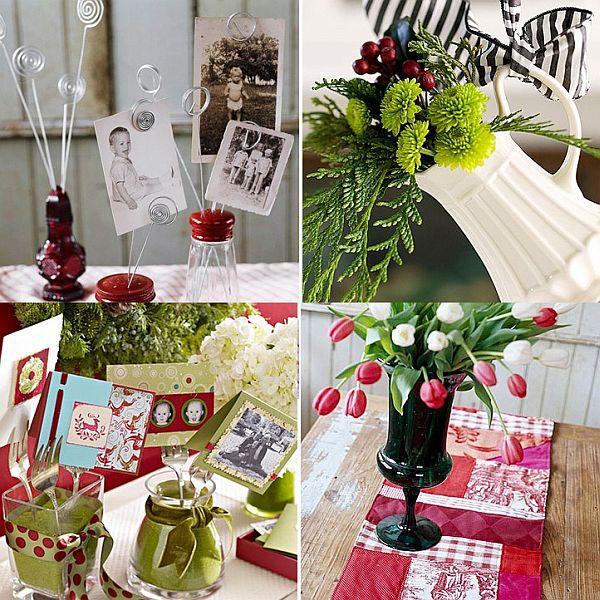 Decoración navidad con artículos de la cocina 4