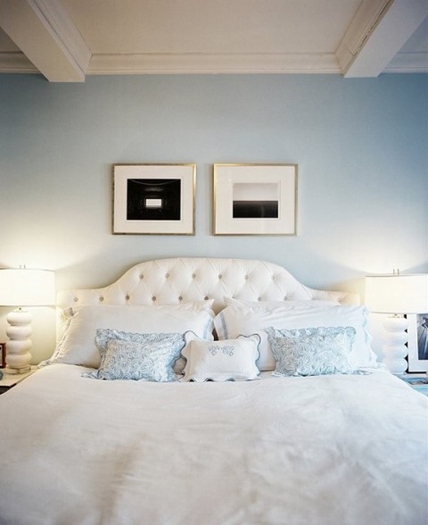 Cabeceros de cama con luz integrada - Cabecero mesillas integradas ...