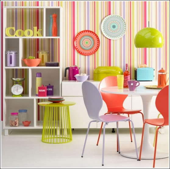 bright coloured kitchen accessories colores ne 243 n para decorar interiores 4908