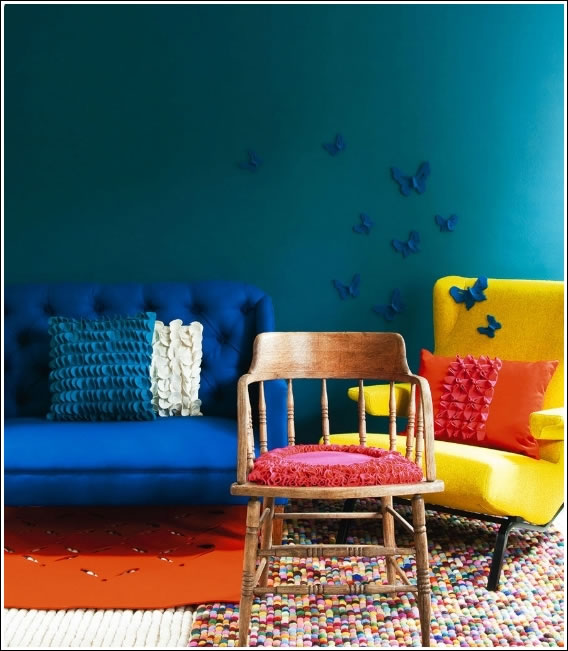 Colores ne n para decorar interiores for Colores actuales para interiores