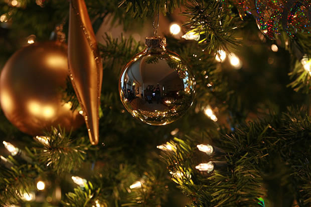 C mo decorar un rbol de navidad parte ii for Como decorar un arbol de navidad