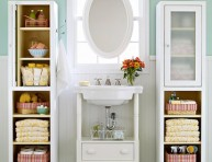 imagen La importancia del espacio para almacenaje en el baño