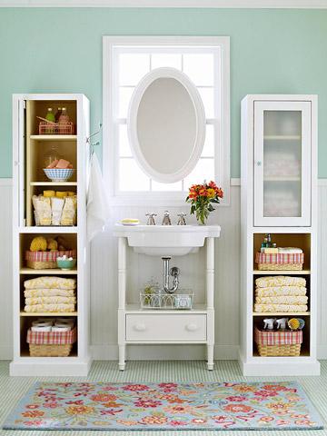 La importancia del espacio para almacenaje en el ba o for Mueble almacenaje bano