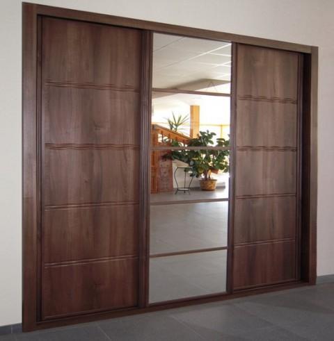 Espejos en el armario superficies luminosas - Armarios puertas correderas espejo ...