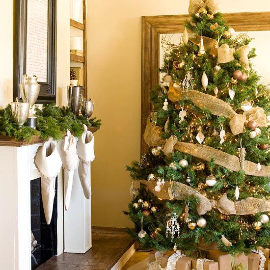 27 inspiradoras ideas para el rbol de navidad