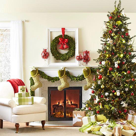 27 inspiradoras ideas para el rbol de navidad - Arboles de navidad decorados 2013 ...
