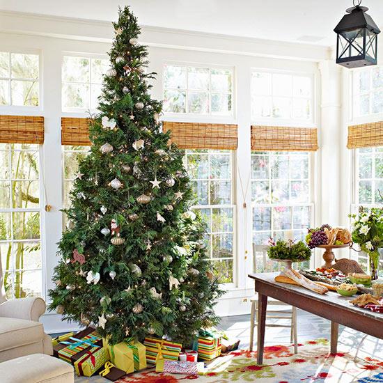 27 inspiradoras ideas para el rbol de navidad - Arboles de navidad de diseno ...