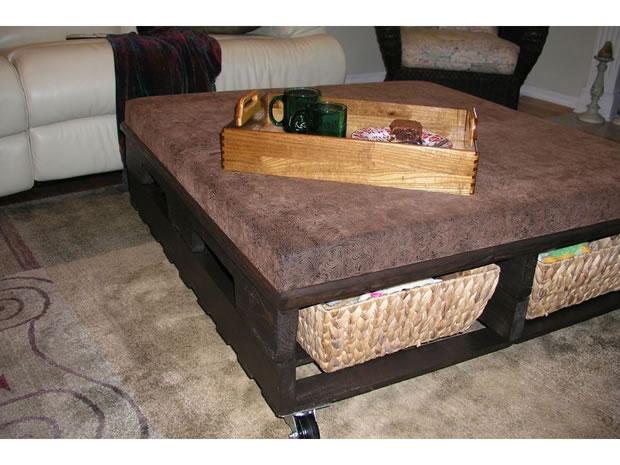 Mesas de palets de madera mesa de comedor con palets with - Mesa de palets ...