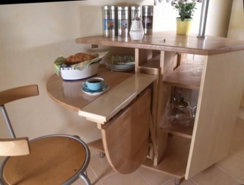 Ideas de mesas plegables de cocina