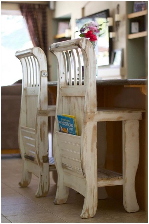 10 Ideas Para Reutilizar Las Cunas De Los Bebes on Vintage Antique Wooden Baby Cribs